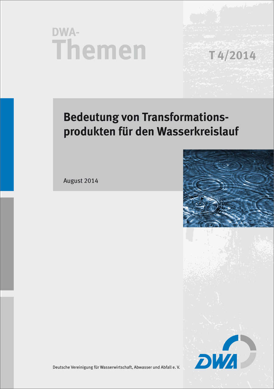 DWA-Themen - Transformationsprodukte (8/2014)