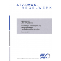 ATV-DVWK-M 503 - Sedimentationsbecken (12/2001)