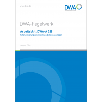 DWA-A 268 - Automatisierung (8/2016)