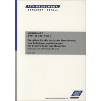 ATV-M 127-1 - Sickerwasser (3/1996)
